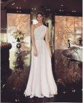 Мегз Дълга рокля с едно рамо