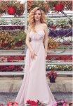 Мегз Дълга рокля с преплетено бюстие