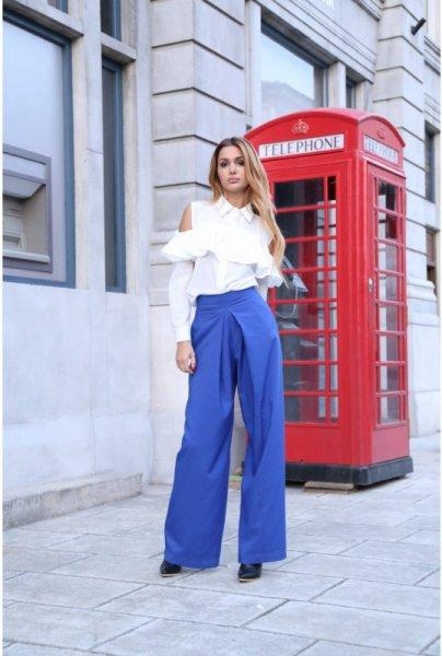 Мегз панталон с висока талия