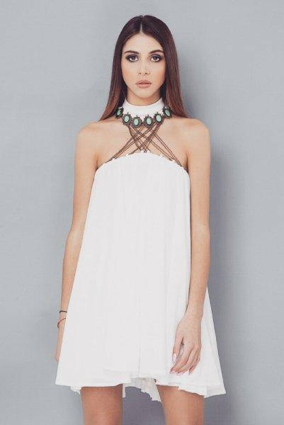 Мегз рокля със синджир