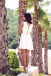 Мегз преплетена рокля