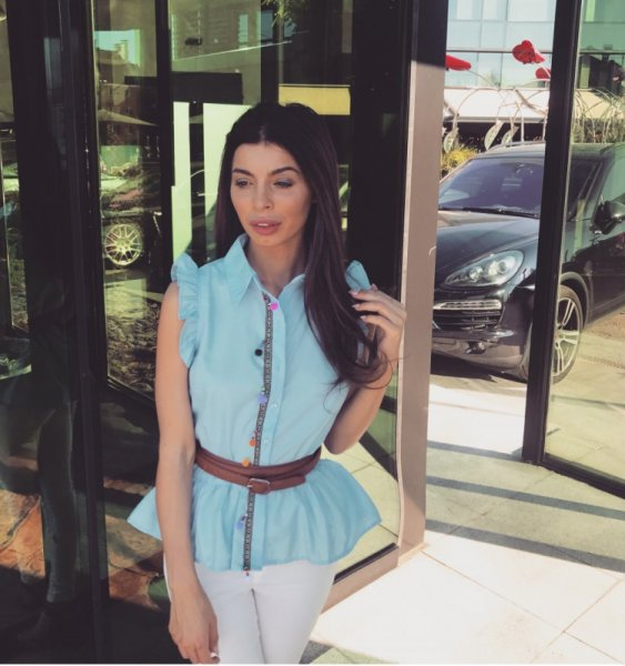 Мегз Риза с етно детаили