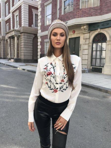 Мегз Риза бродерия