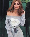 Мегз рокля/пуловер с перли