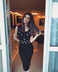 Мегз рокля плетиво с метални детайли