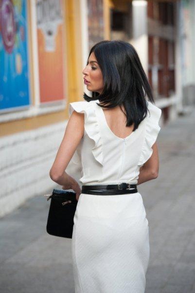 Мегз блуза без ръкави с харбали