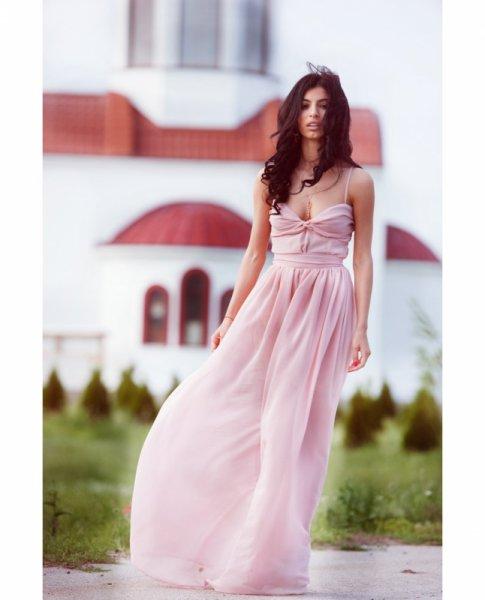 Мегз макси рокля с бюстие