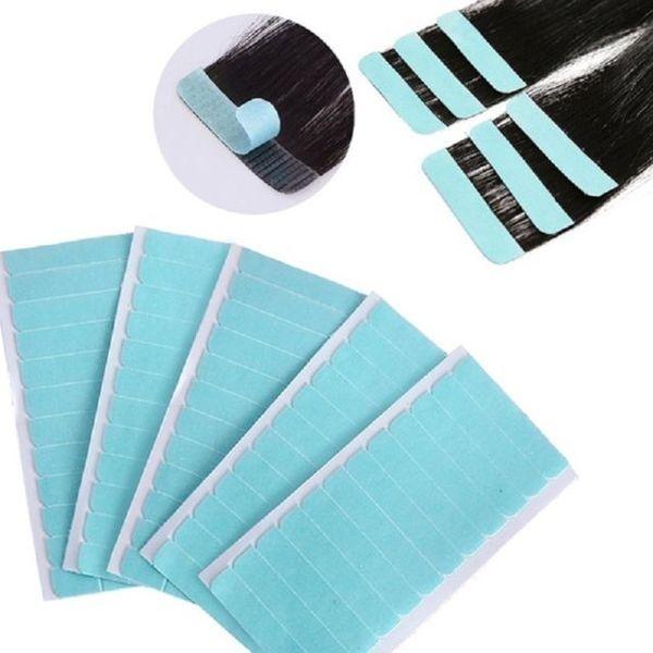 Прозрачни лепенки за екстеншъни и перуки