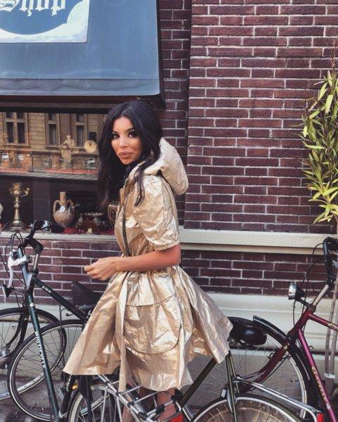 Мегз златно яке / рокля