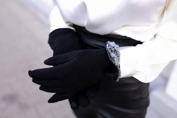 Ръкавици с пух