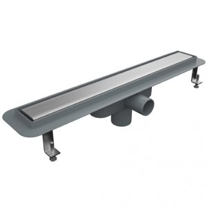 Линеен сифон - серия PLD - 40 см плътна решетка - с пластмасова изолационна пола