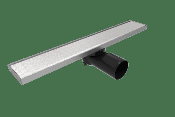 Линеен сифон 60 см - Серия PB - плътна решетка, клапа против миризми