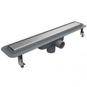 Линеен сифон - серия PLD - 60 см плътна решетка - с пластмасова изолационна пола