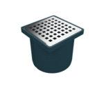 Регулируем сифон с изолационна пола (ПВЦ рамка) със страничен изход Ф50-Copy