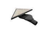 Сифон за вграждане на плочка - триъгълен
