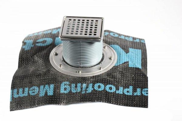 Регулируем сифон с битумна мембрана със страничен изход Ф50