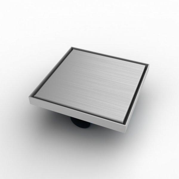 Квадратен сифон, 20х20см със страничен изход Ф50