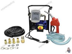 Електрическа помпа за трансфер на масло и гориво 600W