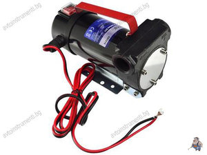 Електрическа помпа за трансфер на масло и гориво 24V