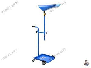 Мобилна количка за източване/събиране на масло - масларка