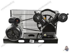 Комплект компресорна глава за въздух 100л. с електромотор