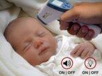 Инфрачервен дигитален термометър 0-100°