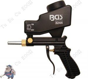 Професионален пневматичен пясъкоструен пистолет/Пневматична пясъкоструйка BGS Technic