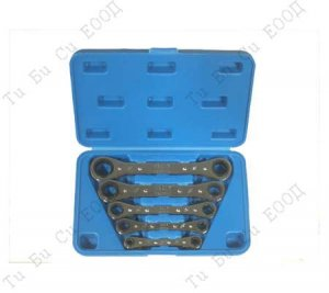 Комплект ключове с тресчотка, 5 бр. BGS Technic