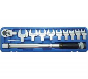 Динамометричен ключ с накрайници,40-210 Nm, 11 части BGS Technic