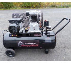 Професионален компресор за въздух 100л. Knappwulf