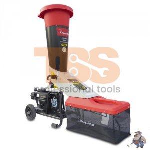 Бензинова машина за рязане/кълцане на клони