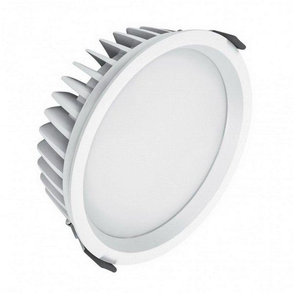(160) LED ЛУНА DL200 25W 3000K WT