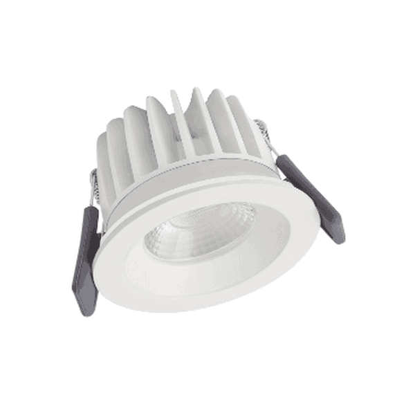 (345) SPOT LED 68 8W 3000K IP44 DIM WT