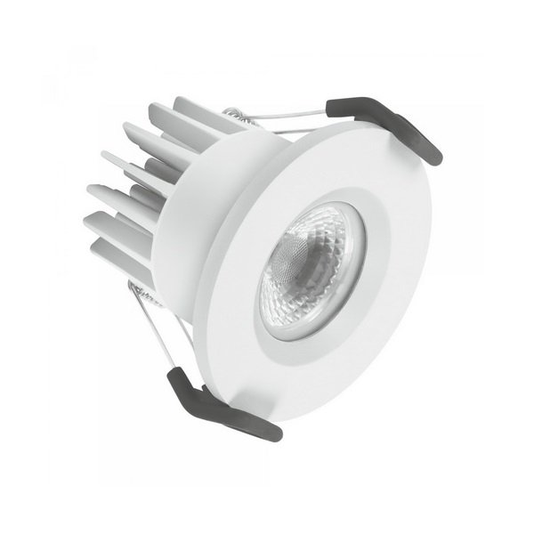 (340) SPOT LED 68 7W 3000K IP65 FP WT