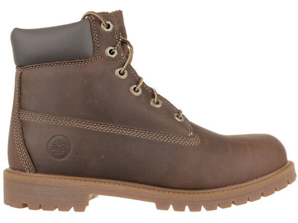 Детски обувки Timberland Authentic 6 In Jr - Кафяви