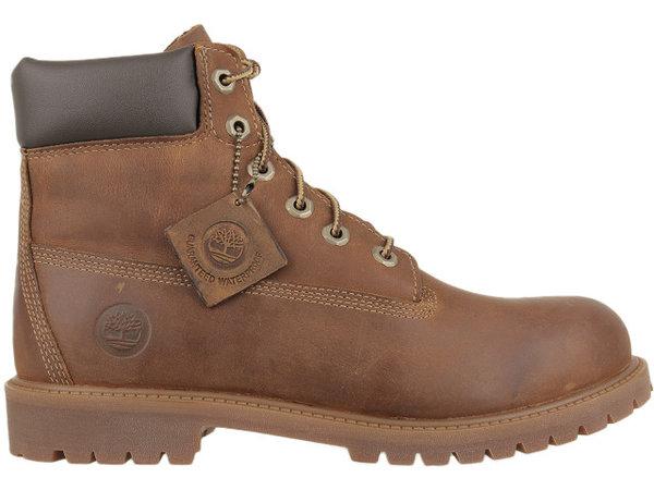 Детски обувки Timberland Authentics 6 In Jr - Кафяви