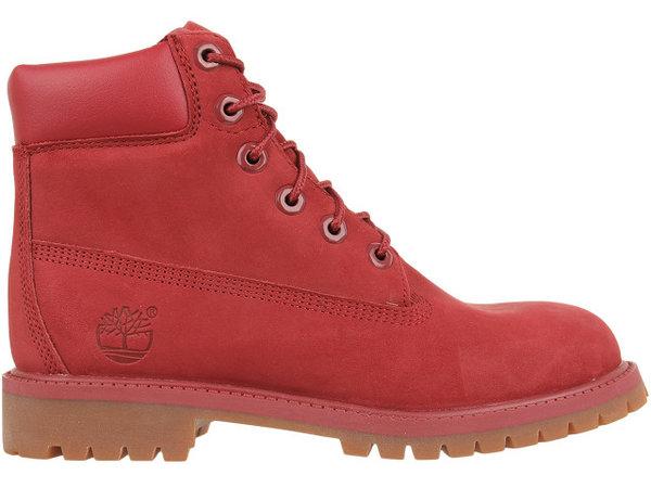 Детски обувки Timberland 6 In Premium Jr Boot - Червени