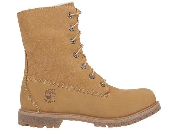 Дамски обувки Timberland Authentic Teddy Fleece - Жълти