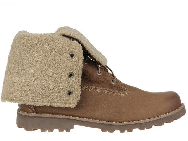 Детски обувки Timberland 6 In Shearling Junior - Кафяви