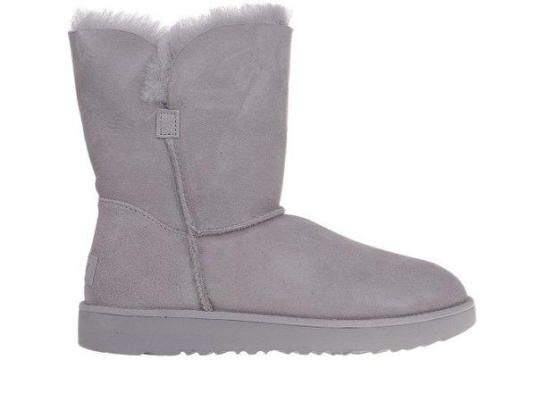 Дамски обувки UGG Classic Cuff Short Seal - Сиви
