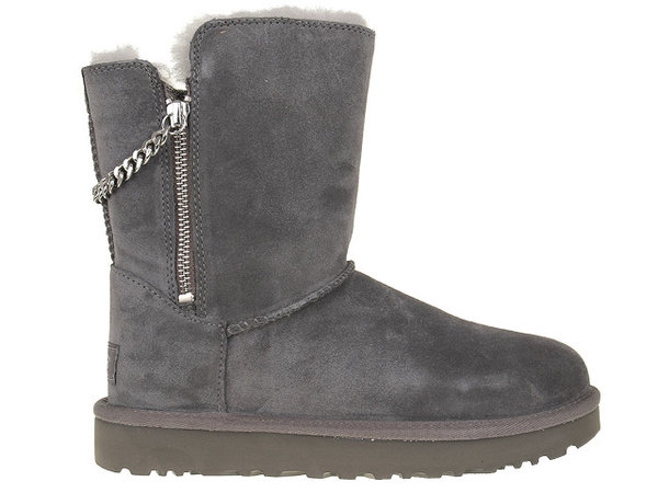 Дамски обувки UGG Classsic Short Sparkle - Сиви