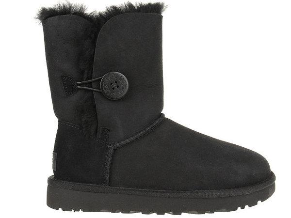 Дамски обувки UGG Bailey Button II - Черни