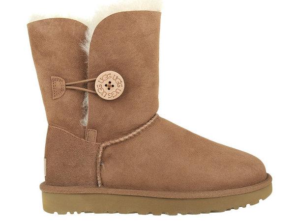 Дамски обувки UGG Bailey Button II - Кафяви
