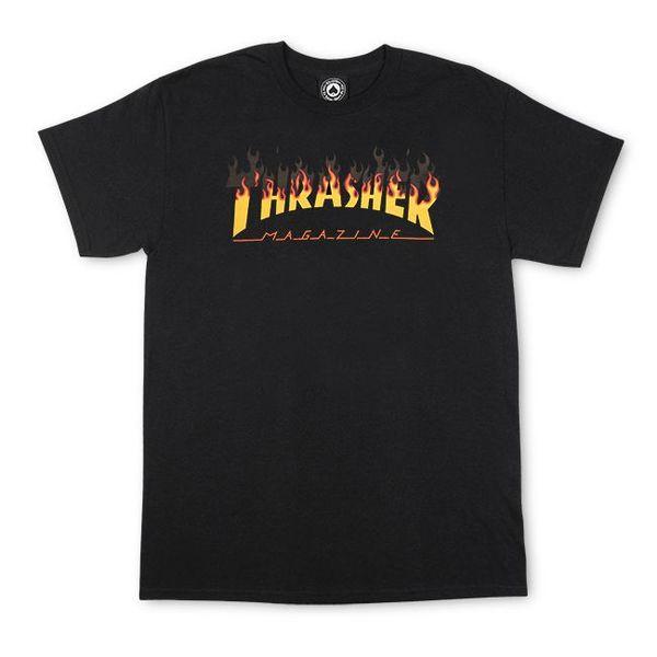 Мъжка тениска Thrasher BBQ - Черна