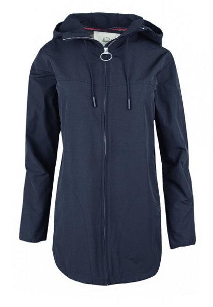 Дамско яке Herschel Hooded Jumper Jacket - Тъмно синьо