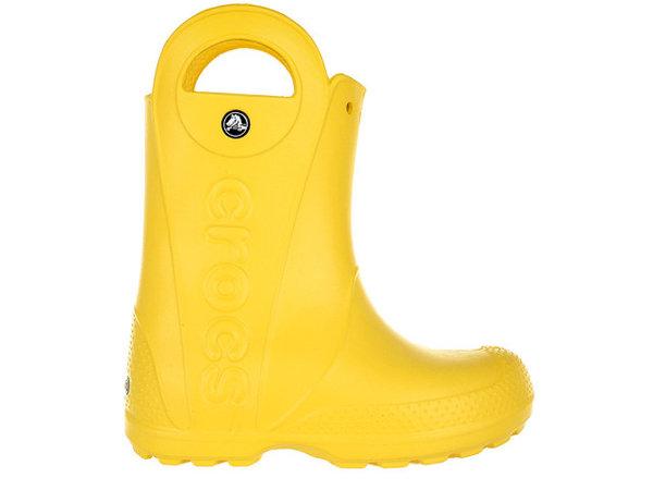 Детски обувки Crocs Handle It Rain Boot - Жълти