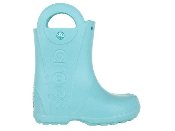 Детски обувки Crocs Handle It Rain - Светло сини