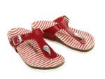 Детски сандали Birkenstock Gizeh Kids BFDD  - Червени