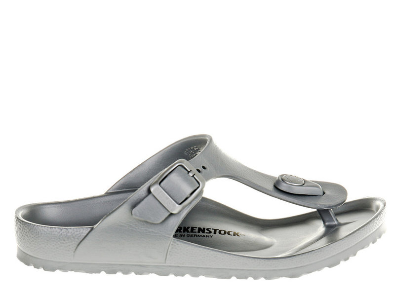 Birkenstock Gizeh Kids EVA Metallic Silver 1003497