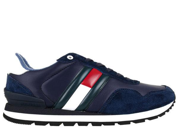 Дамски обувки Tommy Hilfiger Lifestyle Sneaker Low Cut - Сини